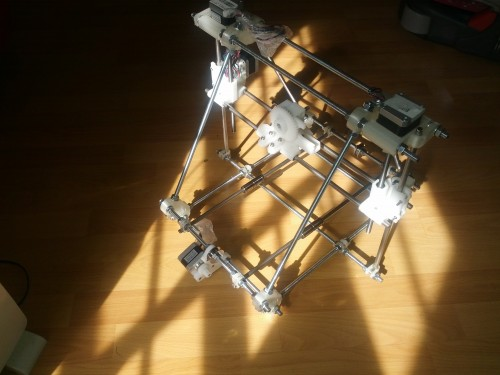 RepRap Prusa Medel under construction